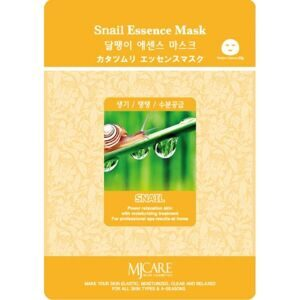 Маска тканевая для лица Улитка Mijin Snail Essence Mask 23гр
