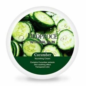 ДП NATURAL SKIN Крем для лица и тела с экстрактом огурца DEOPROCE NATURAL SKIN CUCUMBER NOURISHING CREAM 100г