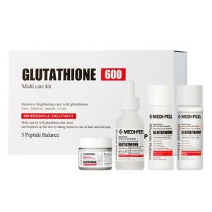 MEDI-PEEl Bio-Intense Gluthione 600 Multi Care Kit (30ml+30ml+30ml+50g) Набор против пигментации