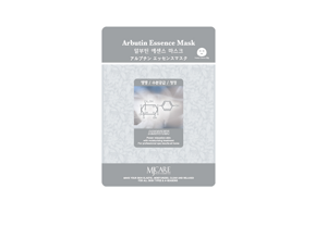 MIJIN Essence Маска для лица тканевая с арбутином Arbutin Essence Mask 23г