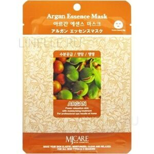 Маска для лица тканевая с маслом арганы MIJIN Argana Essence Mask 23г