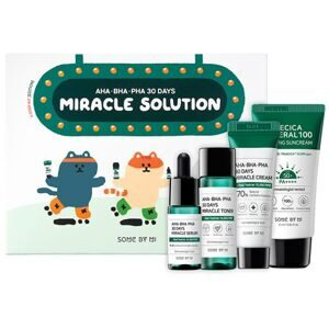 [SOME BY MI] Набор миниатюр AHA.BHA.PHA 30 Days Miracle Solution 4 - Step Kit""