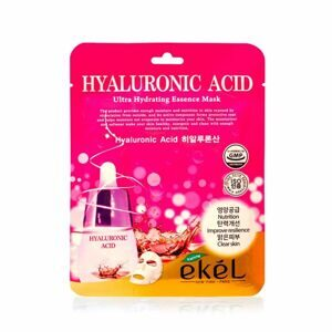 Ekel маска тканевая с гиалуроновой кислотой Hyaluronic Acid Ultra Hydrating Essence Mask