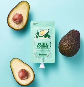 БР Petite Pocket Крем для лица с экстрактом авокадо BERRISOM Avocado Moisture Cream 30г