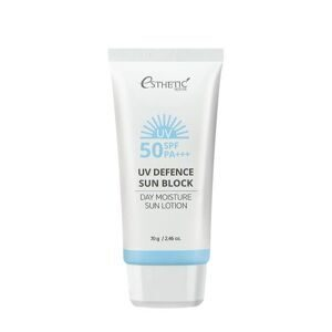 ESTHETIC HOUSE Солнцезащитный лосьон UV DEFENCE SUN BLOCK DAY MOISTURE SUN LOTION SPF 50+ / PA+++, 70 гр