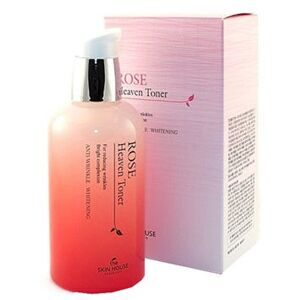 Тонер для лица с экстрактом розы THE SKIN HOUSE Rose Heaven Toner 130мл