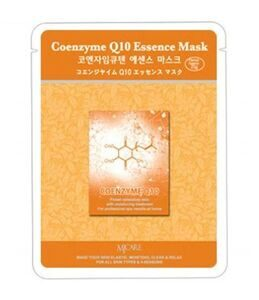 Маска для лица тканевая с коэнзимом MIJIN Care Coenzyme Q10 Essence Mask 23г