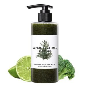 Пенка для умывания Wonder Bath SUPER VEGITOKS CLEANSER GREEN 300мл