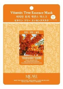 Маска для лица тканевая с экстрактом облепихи MIJIN Vitamin Tree Essence Mask 23г