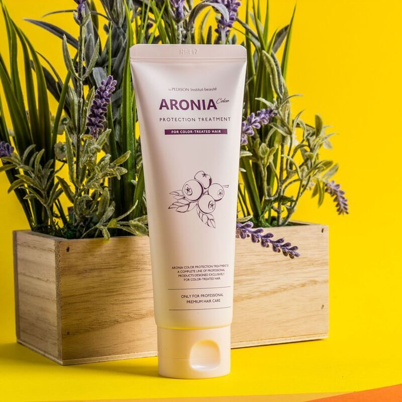 Маска для волос АРОНИЯ EVAS Pedison Institute-beaut Aronia Color Protection Treatment, 100 мл