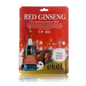 Ekel маска тканевая адаптационная с красным женьшенем | Ekel Red Ginseng Essential Mask