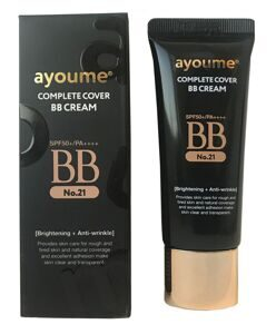 АЮМ Крем BB AYOUME COMPLETE COVER BB CREAM SPF50+/PA++++ #21 20мл