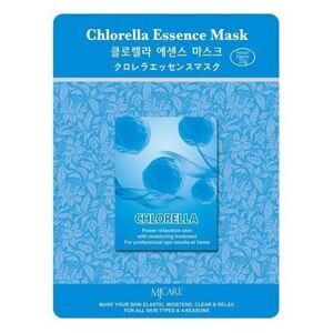 Маска тканевая для лица Хлорелла MIJIN Chlorella Essence Mask 23гр