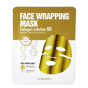Маска для лица с коллагеном Berrisom Face Wrapping Mask Collagen Solution 80 27гр