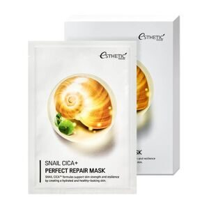 [ESTHETIC HOUSE] Тканевая маска для лица МУЦИН УЛИТКИ Snail Cica+ Perfect Repair Mask, 25 мл