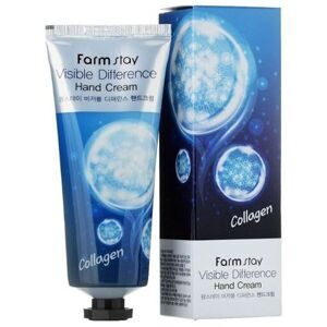 "Крем для рук ""Коллаген"" Farmstay Visible Difference Hand Cream Collagen, 100 мл,"