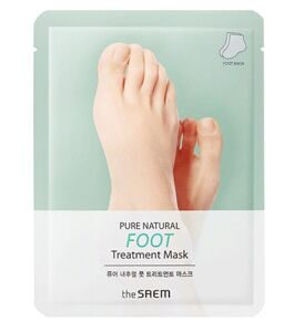 THE SAEM Маска для ног PURE NATURAL Foot Treatment Mask 8гр*2
